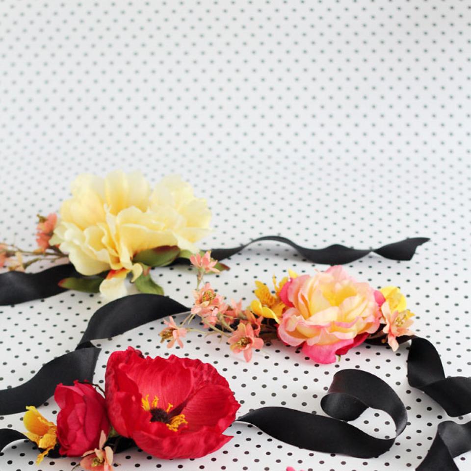 DIY胸花