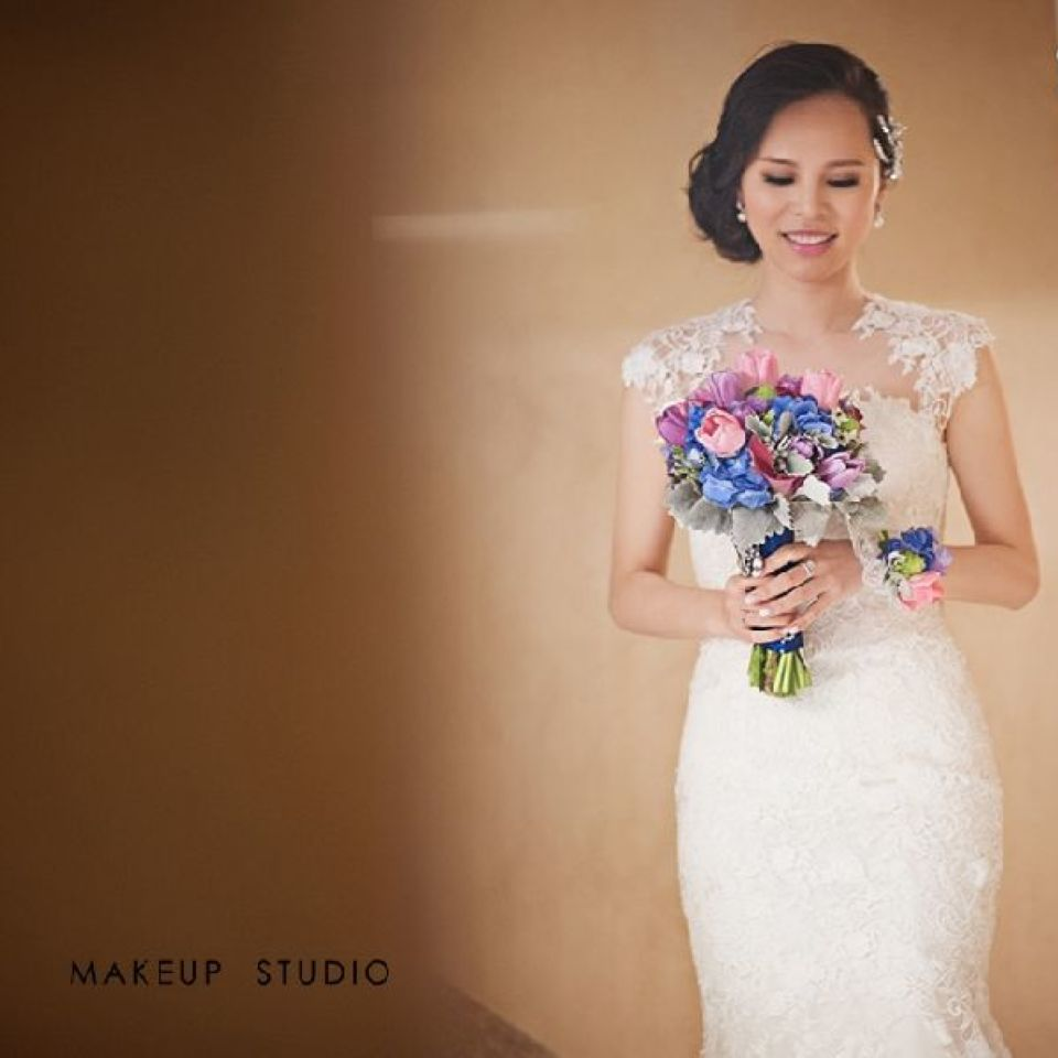 新娘Wendy的跟妆照