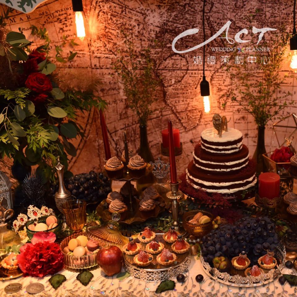法式复古风婚礼