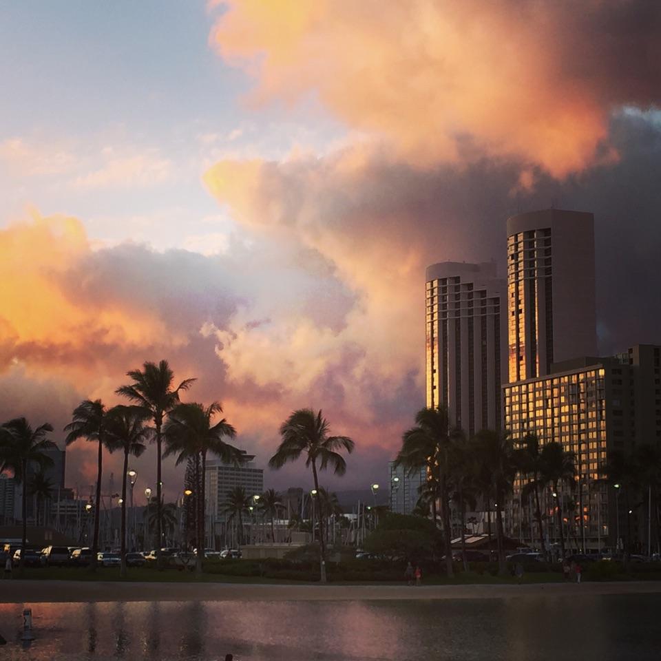 夏威夷的一组手机摄影