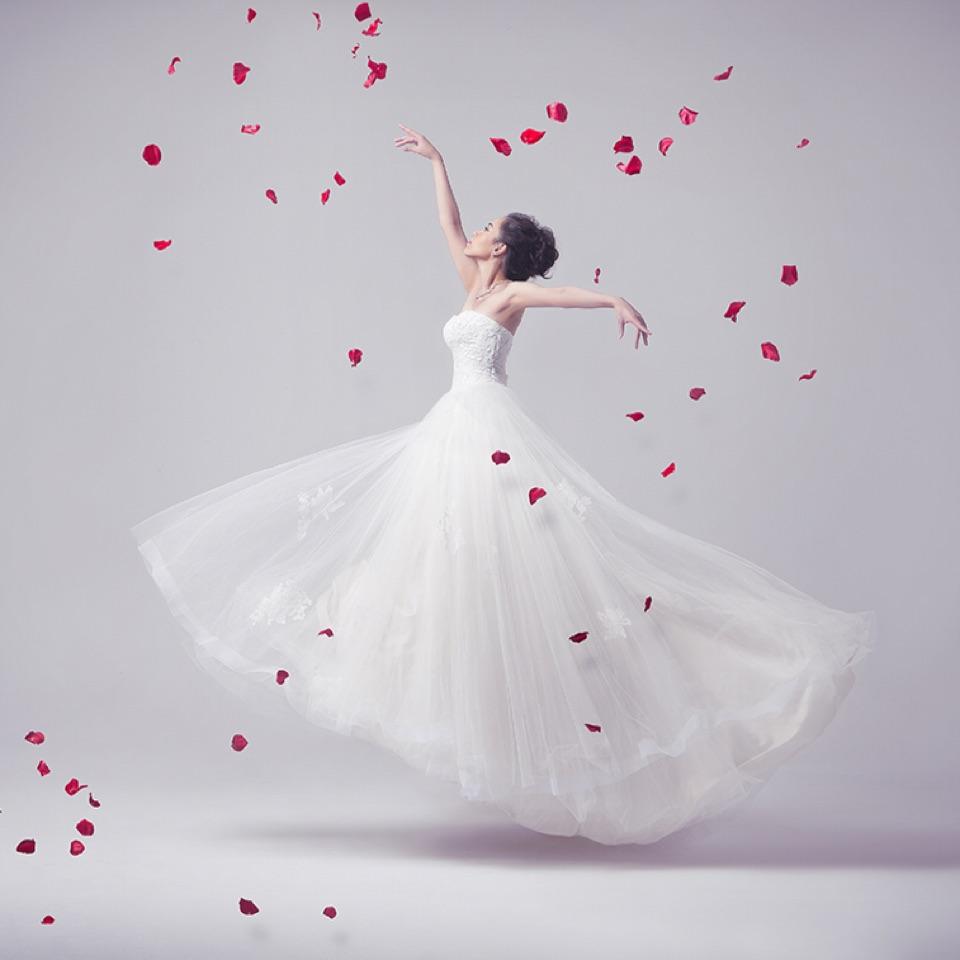 AdoStudio婚纱杂志大片风格