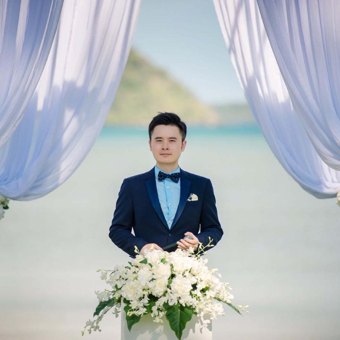 你好!我是婚礼主持人陈纯