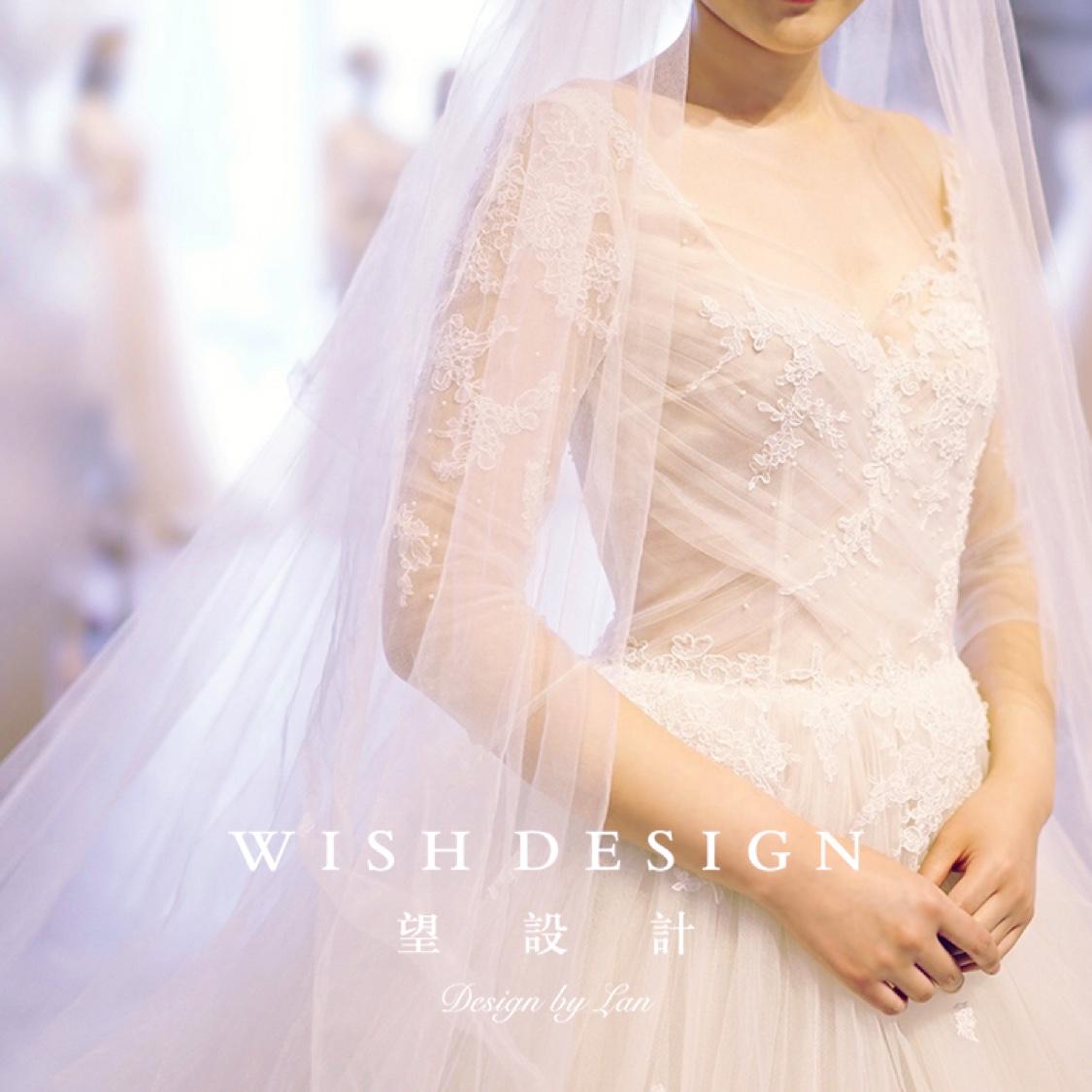 见证融入自己想法的婚纱诞生,也是一种幸福体验